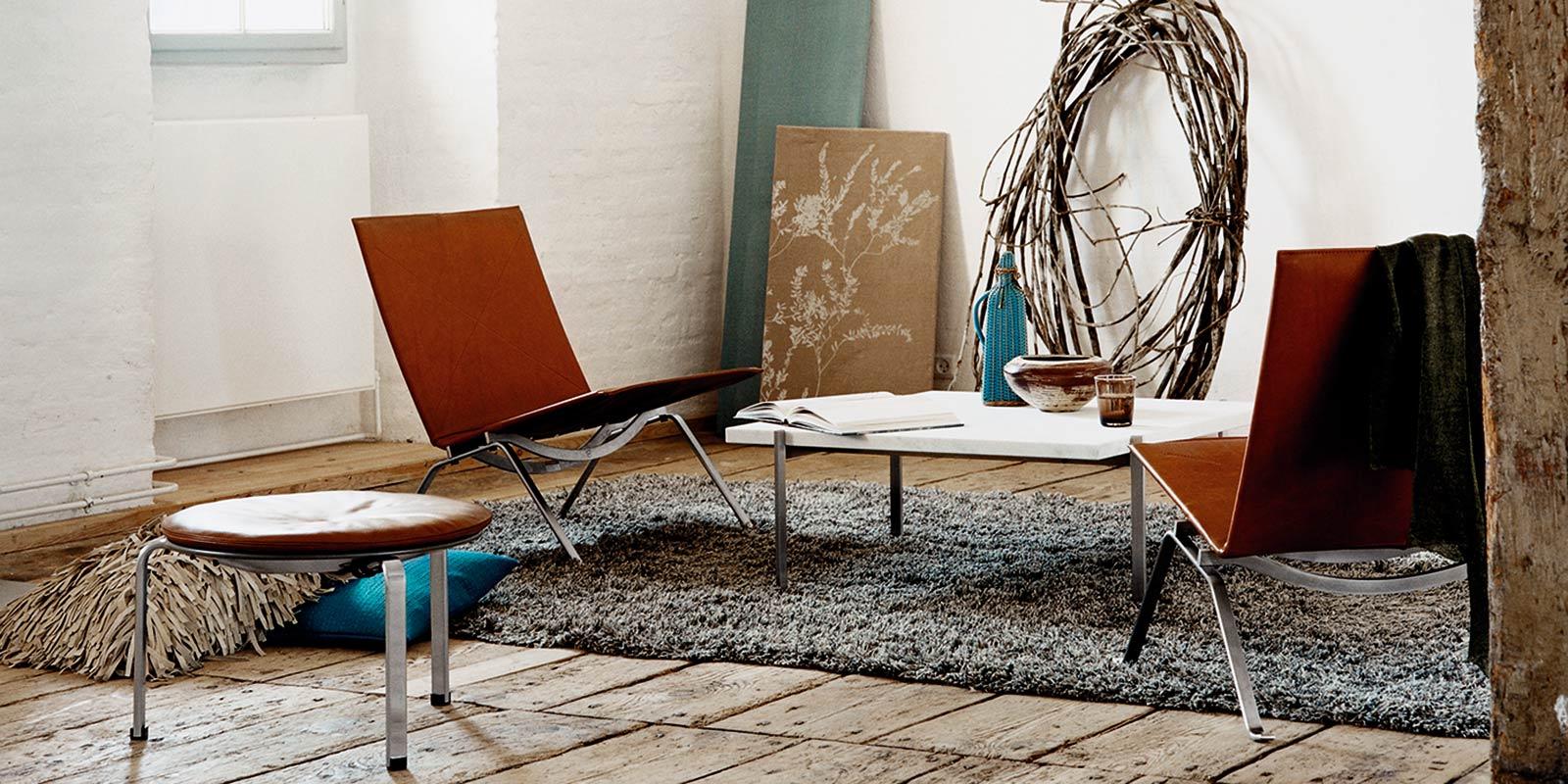Miljøbilde av PK 22 loungestol