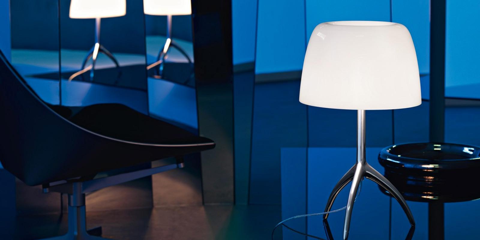 Miljøbilde av Lumiere bordlampe