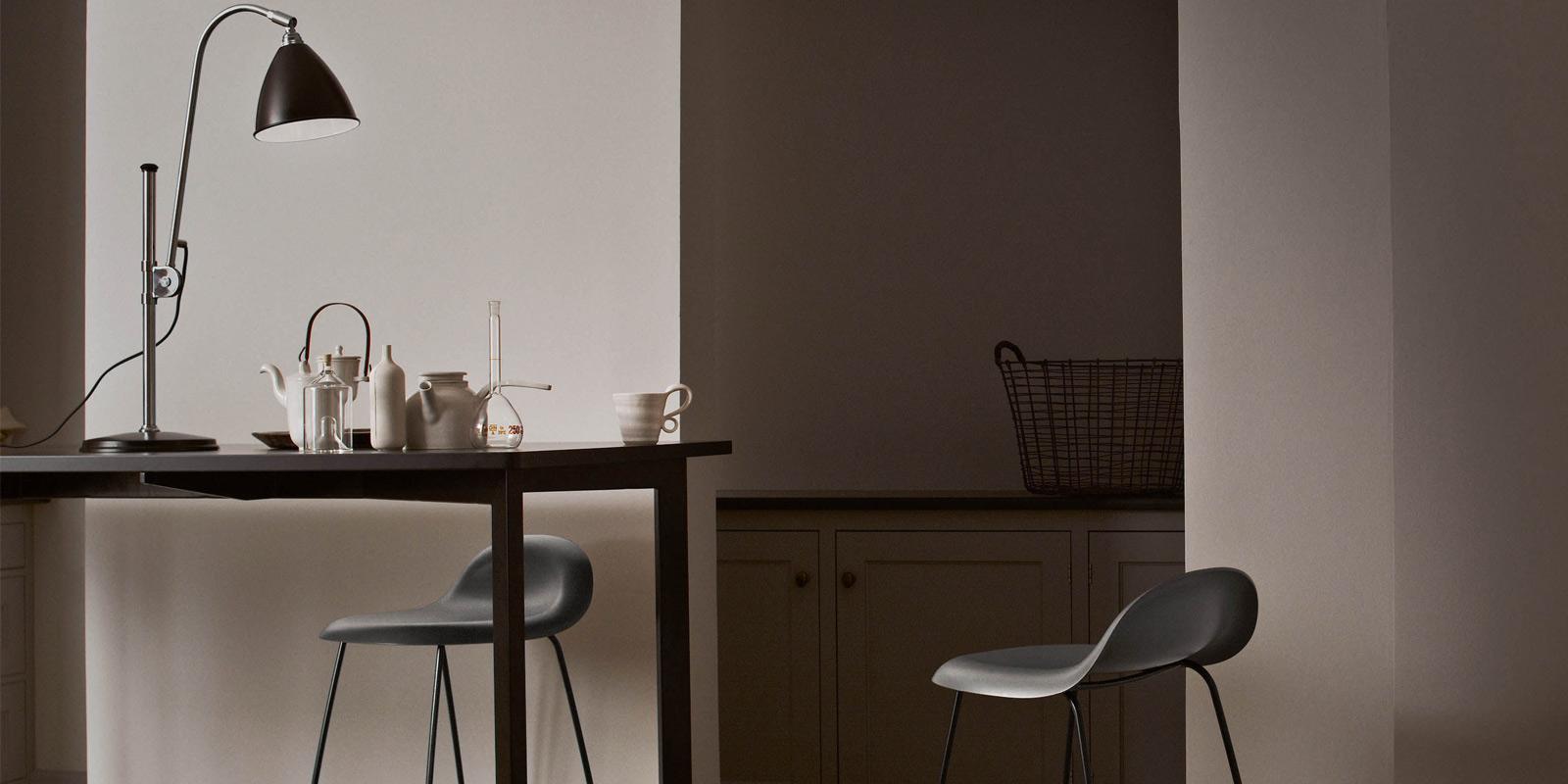 Miljøbilde av Bestlite vegg, bord og gulvlamper