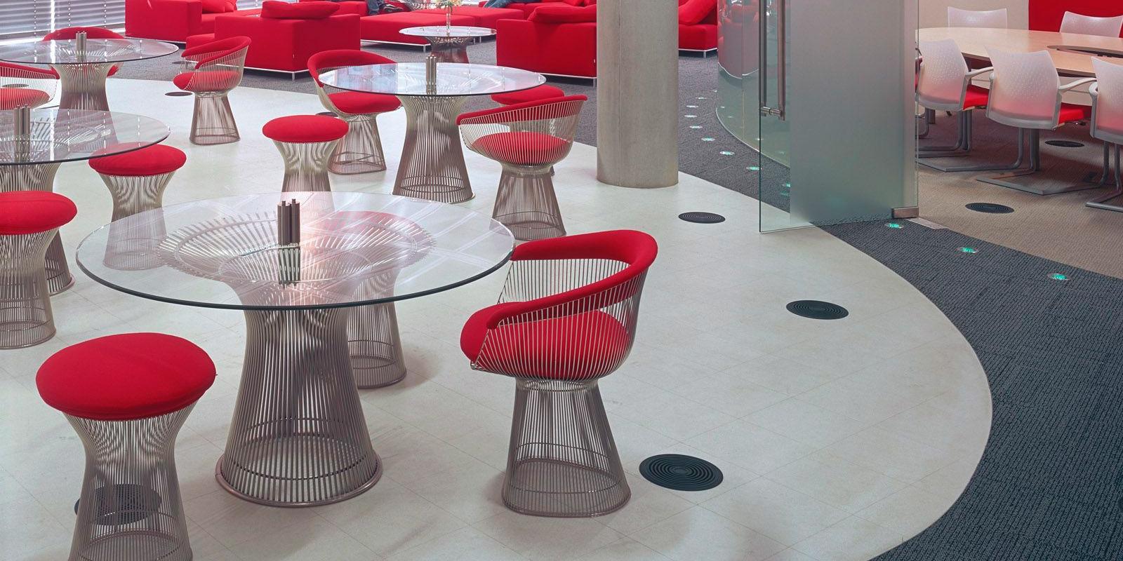 Miljøbilde av Platner sofabord og småbord