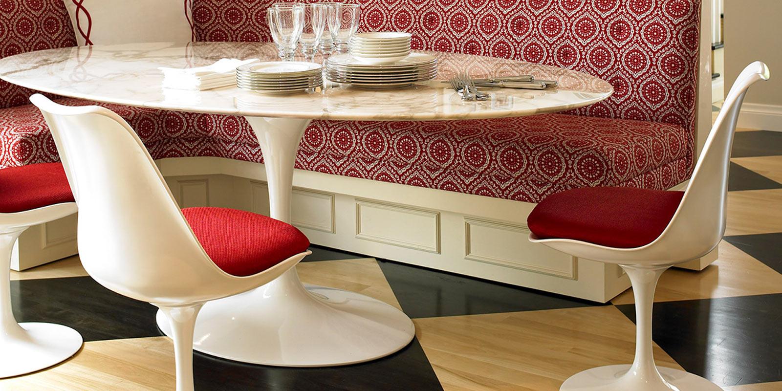 Miljøbilde av Saarinen Ovalt Spisebord