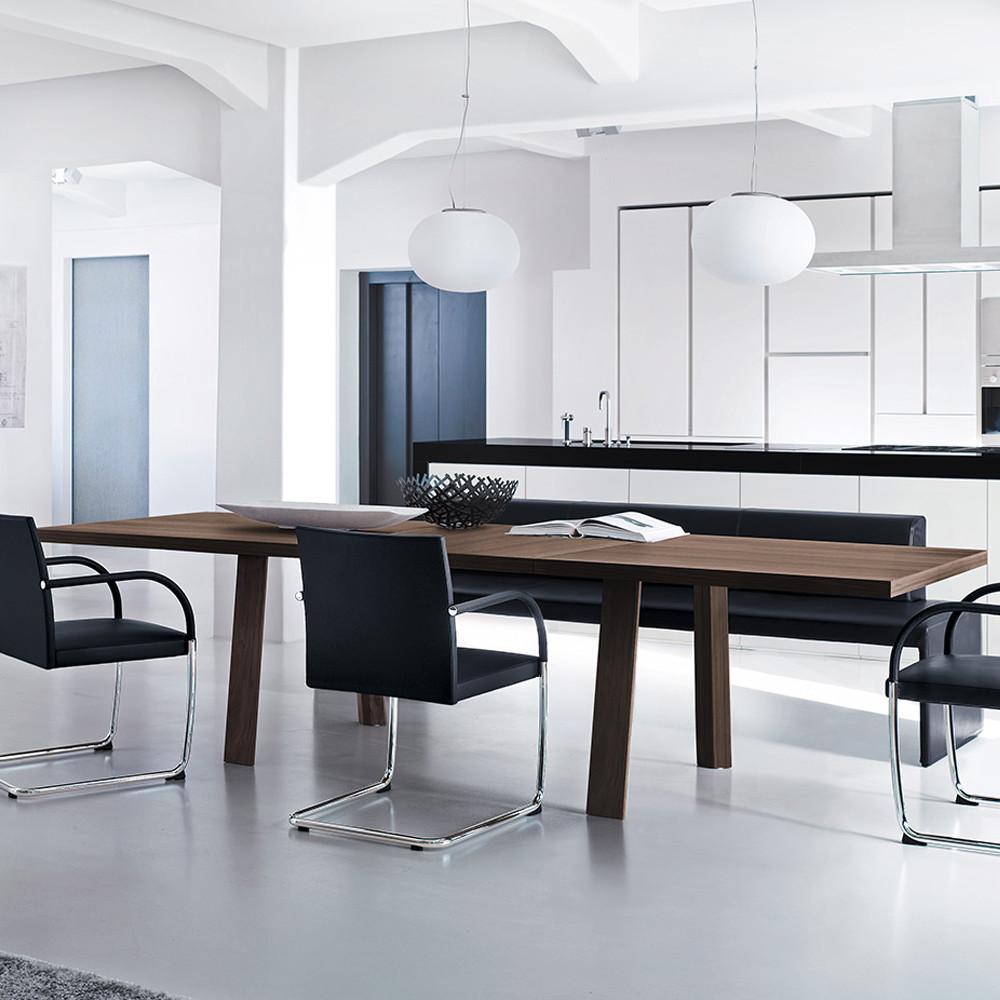 Tadeo Spisebord - med uttrekk - Tannum