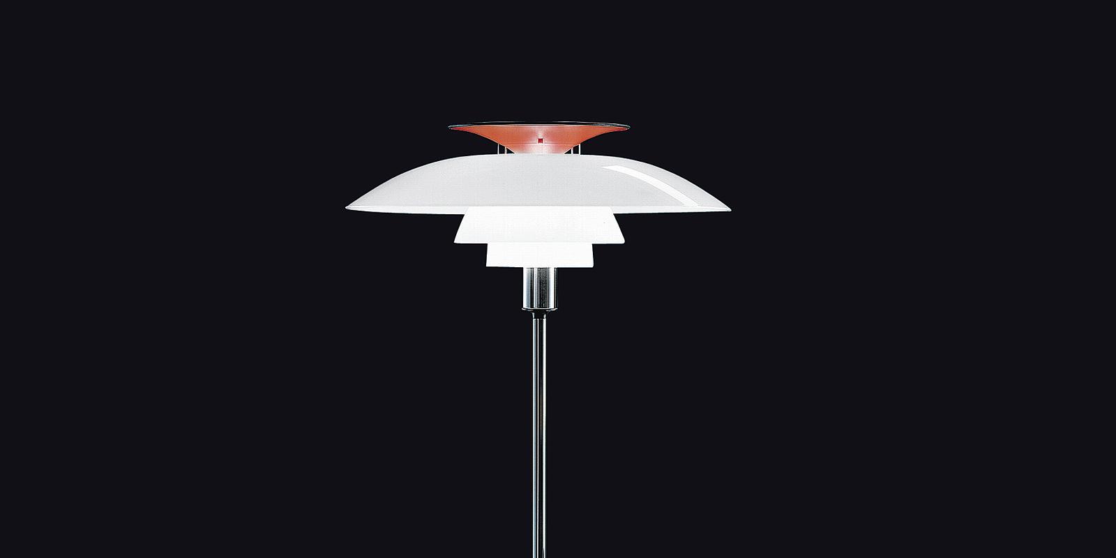 Miljøbilde av PH 80 gulvlampe