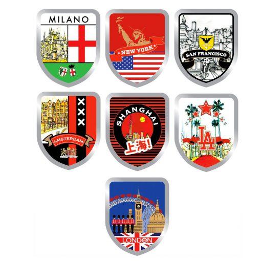 Urban Hike Sidetable Badges