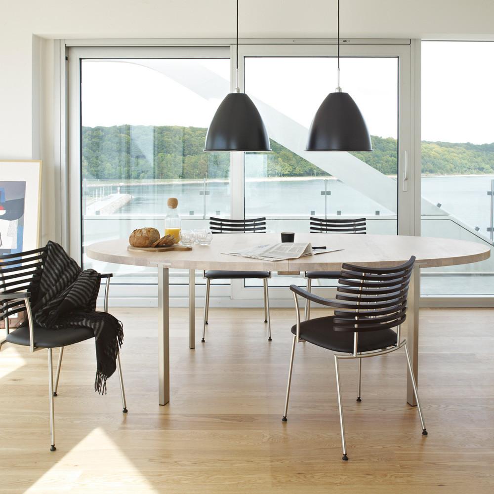 Svært Veldig Rundt Spisebord Med Uttrekk KQB86 | PromCoast KT-69
