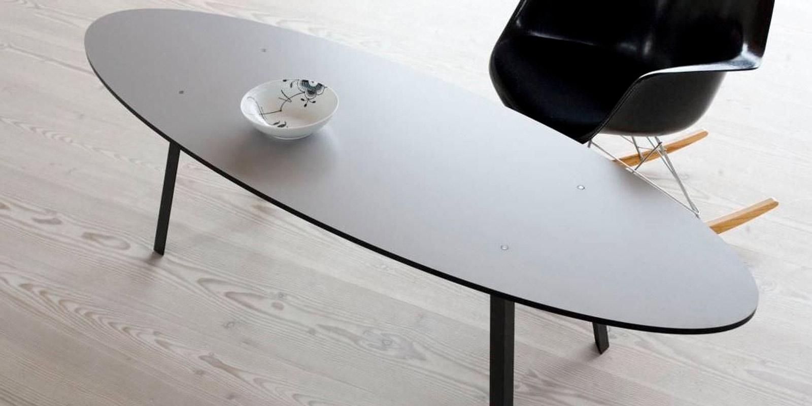 Miljøbilde av Turn oval sofabord