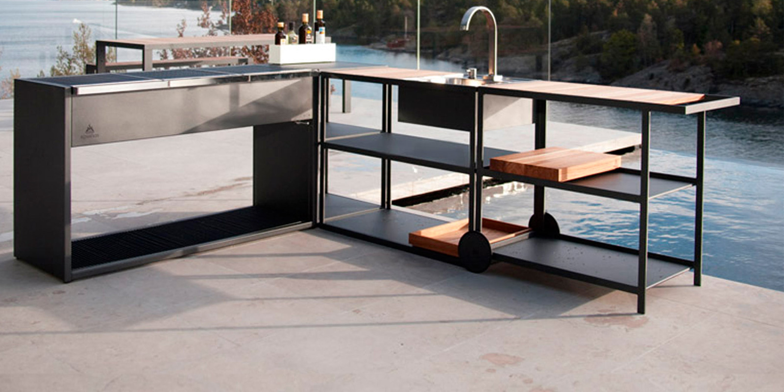 Miljøbilde av Garden kitchen sink og Garden trolley