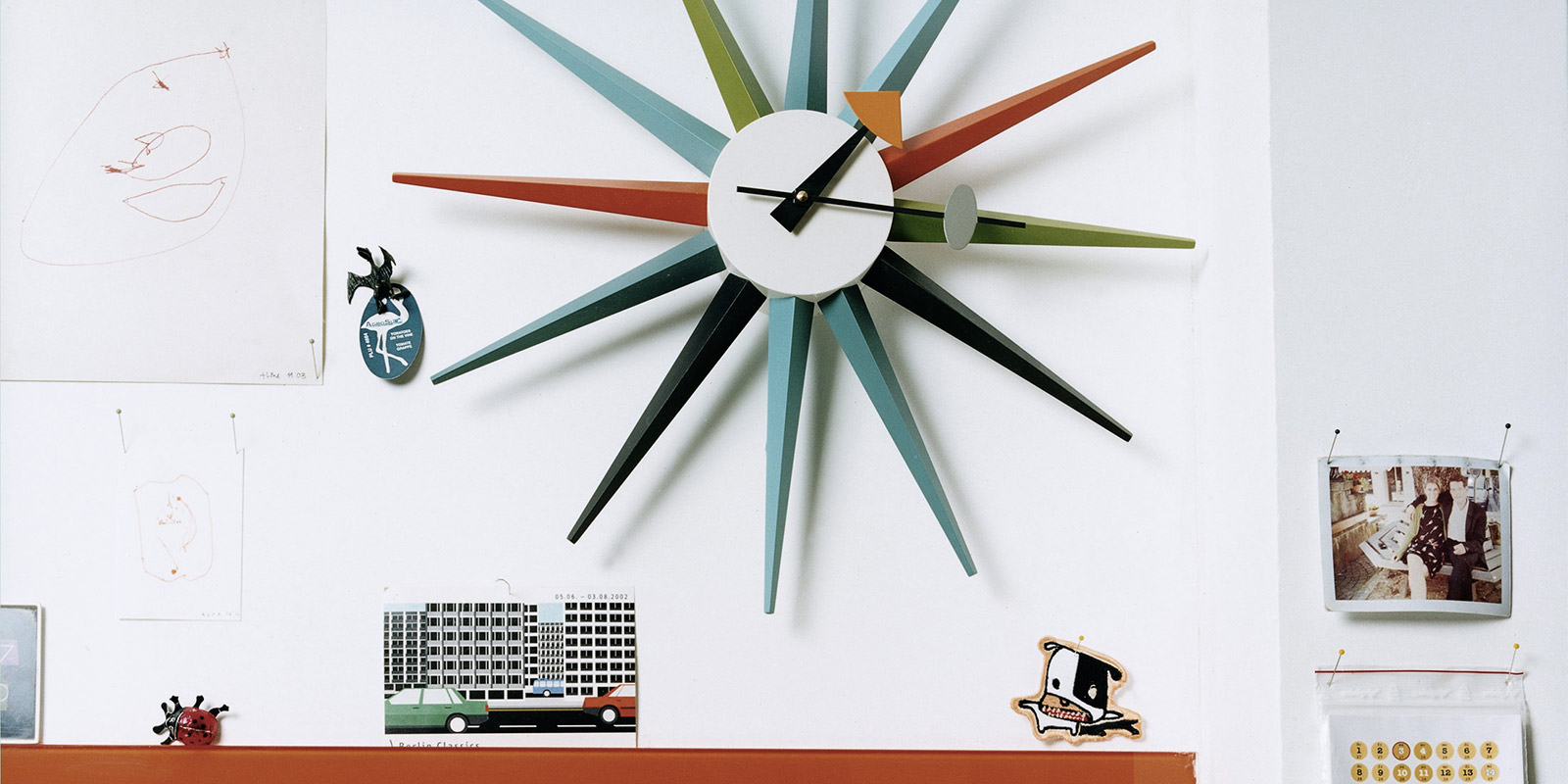 Miljøbilde av Vitra veggklokker