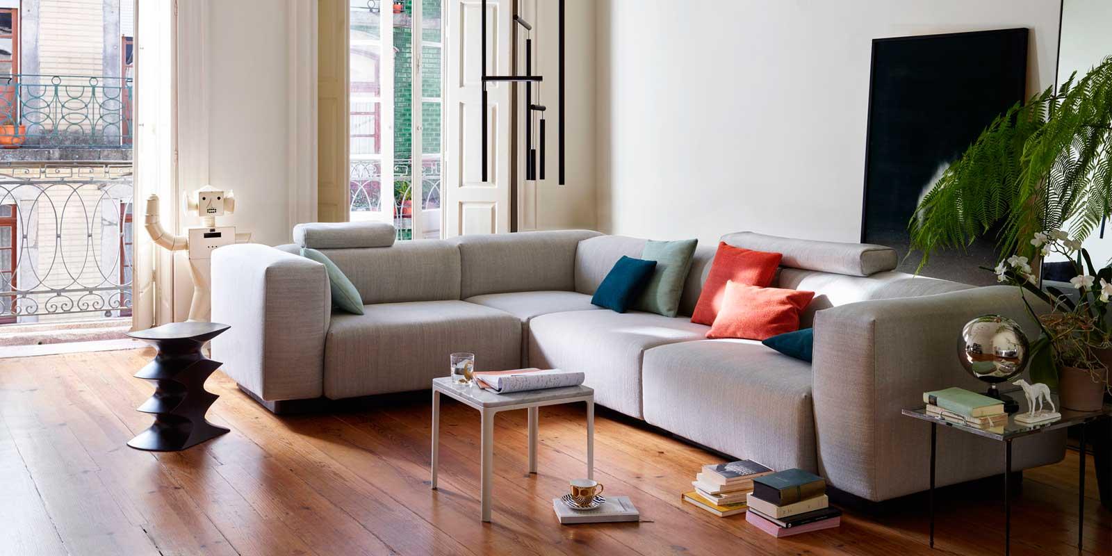 Miljøbilde av Plate sofabord og småbord