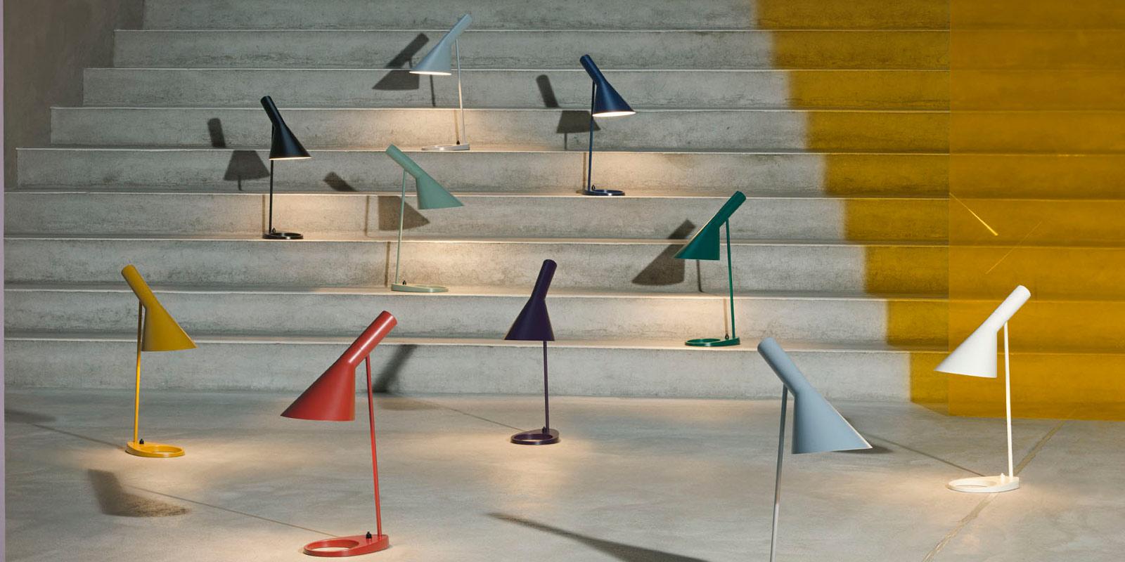 Miljøbilde av AJ lampeserie