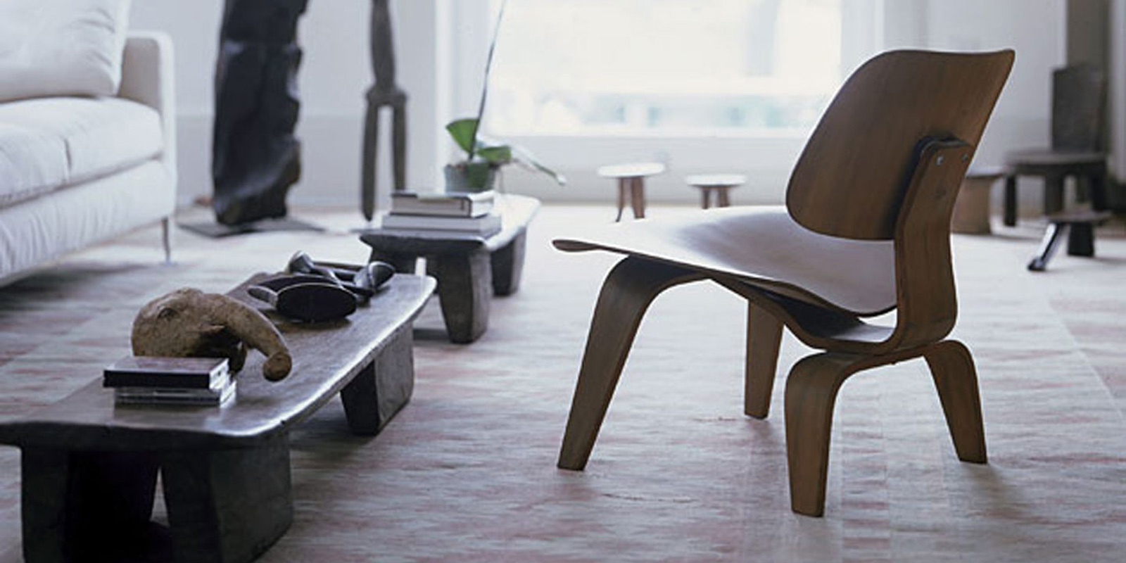 Miljøbilde av LCW (Lounge Chair Wood)