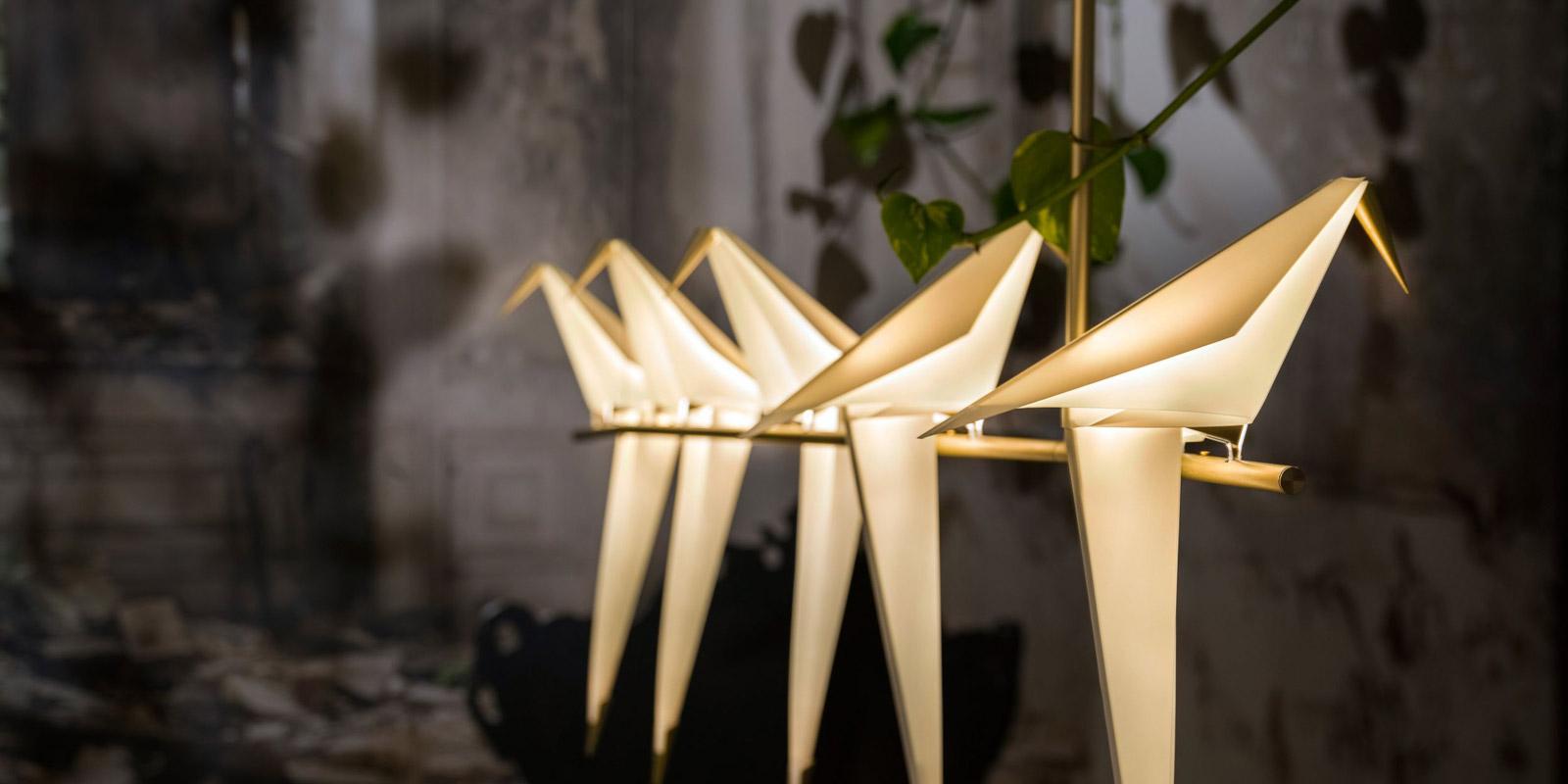 Miljøbilde av Perch lampeserie