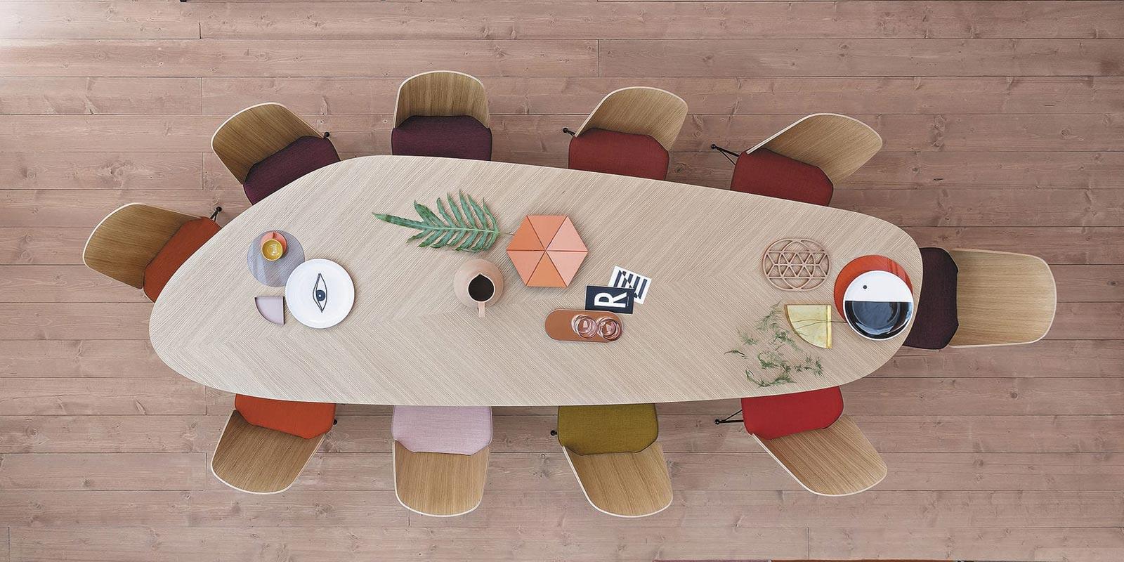 Miljøbilde av Tweed spisebord