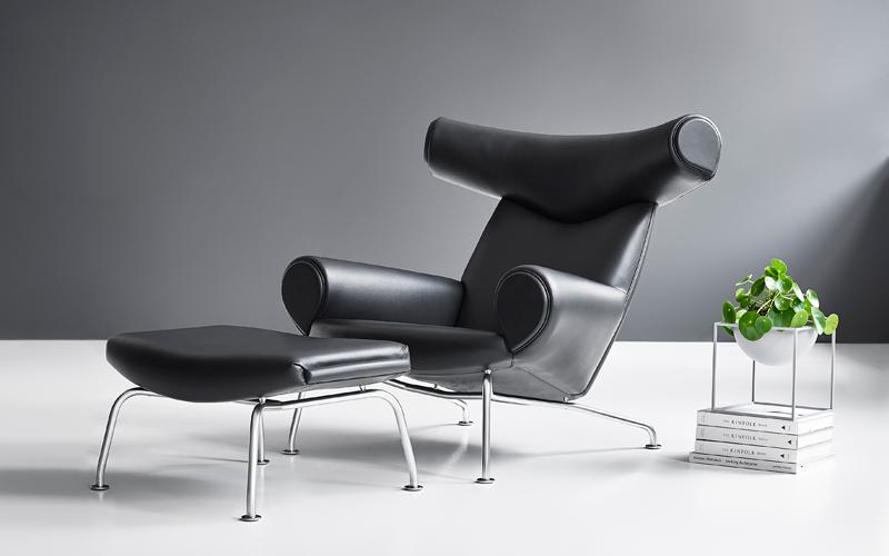 OX-chair: Kjøp stolen, få skammelen på kjøpet.