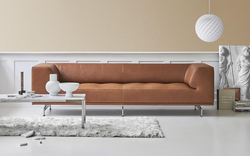 Delphi sofa fra Erik Jørgensen feirer sitt10 års jubileum!