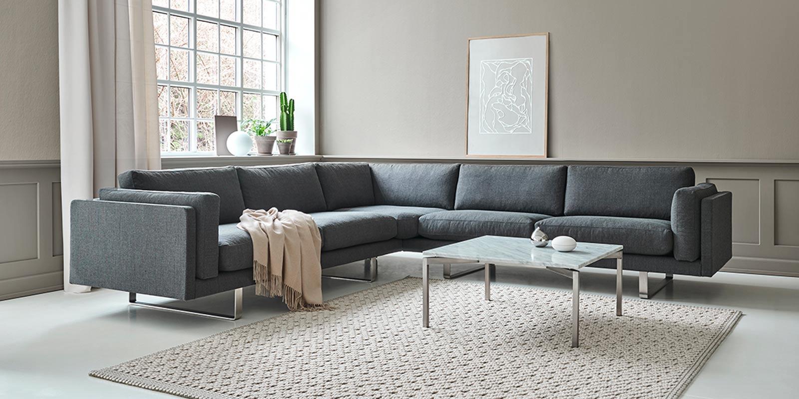 Miljøbilde av EJ 280 – «Pure» sofa og hjørnesofa
