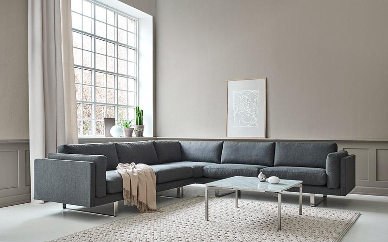 Pure: Ny sofa fra Erik Jørgensen