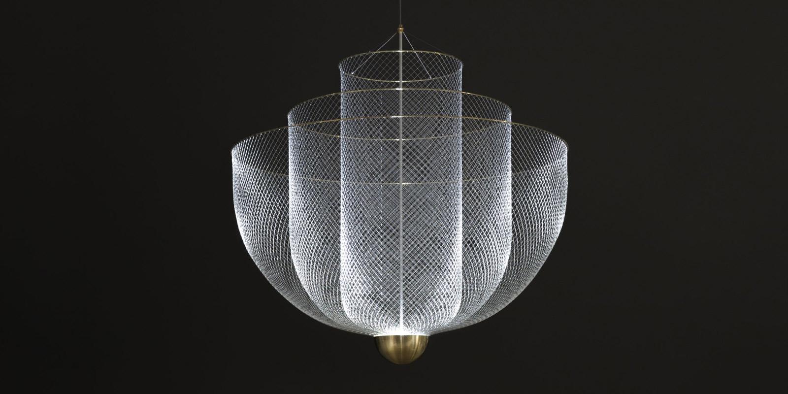 Miljøbilde av Meshmatics lysekrone