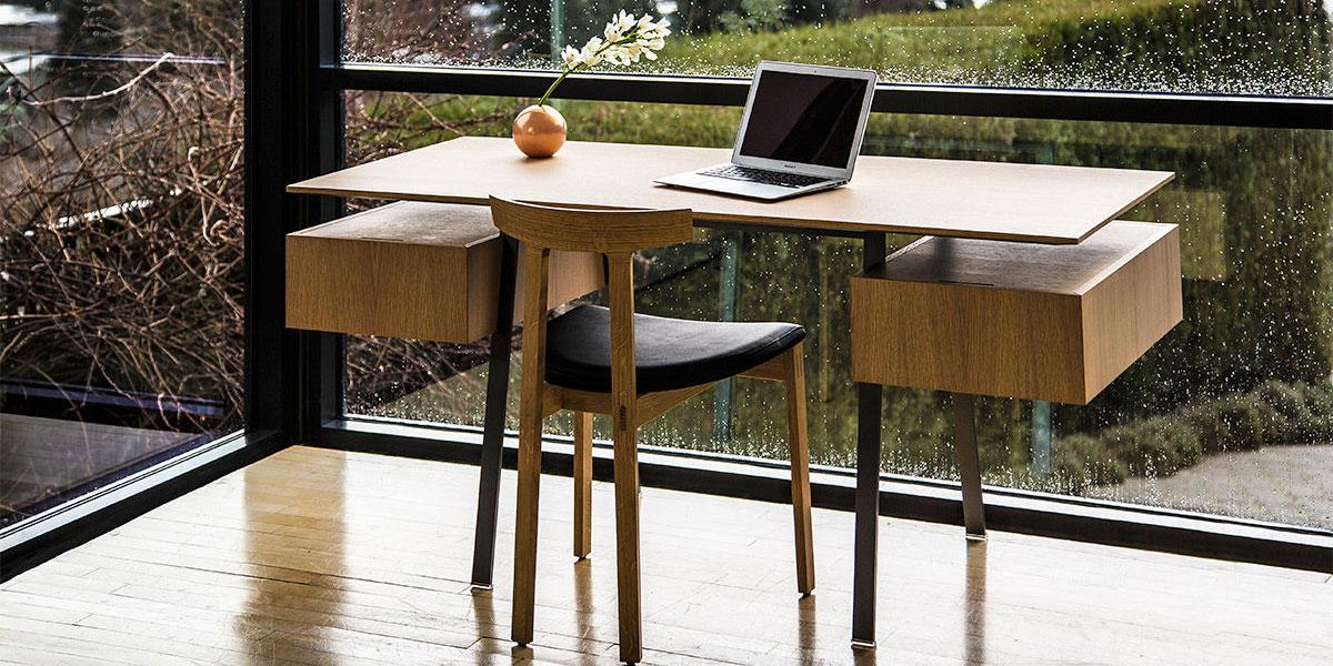 Miljøbilde av Homework skrivebord