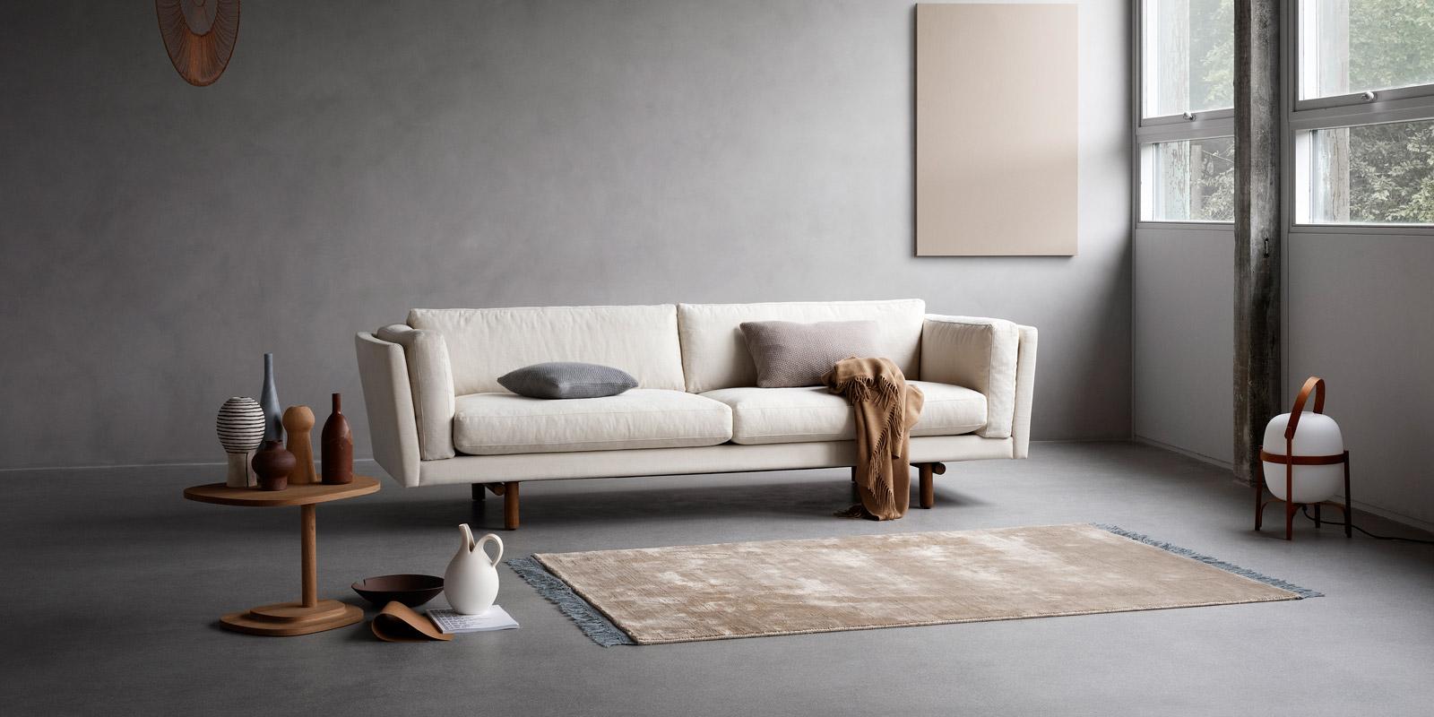 Miljøbilde av EJ 288 Indigo sofa