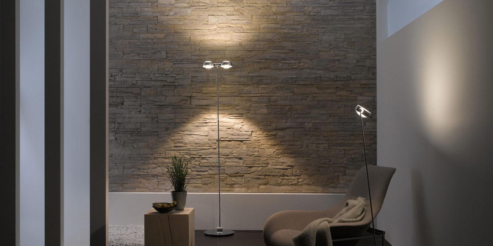 Miljøbilde av Sento gulvlampe (terra)